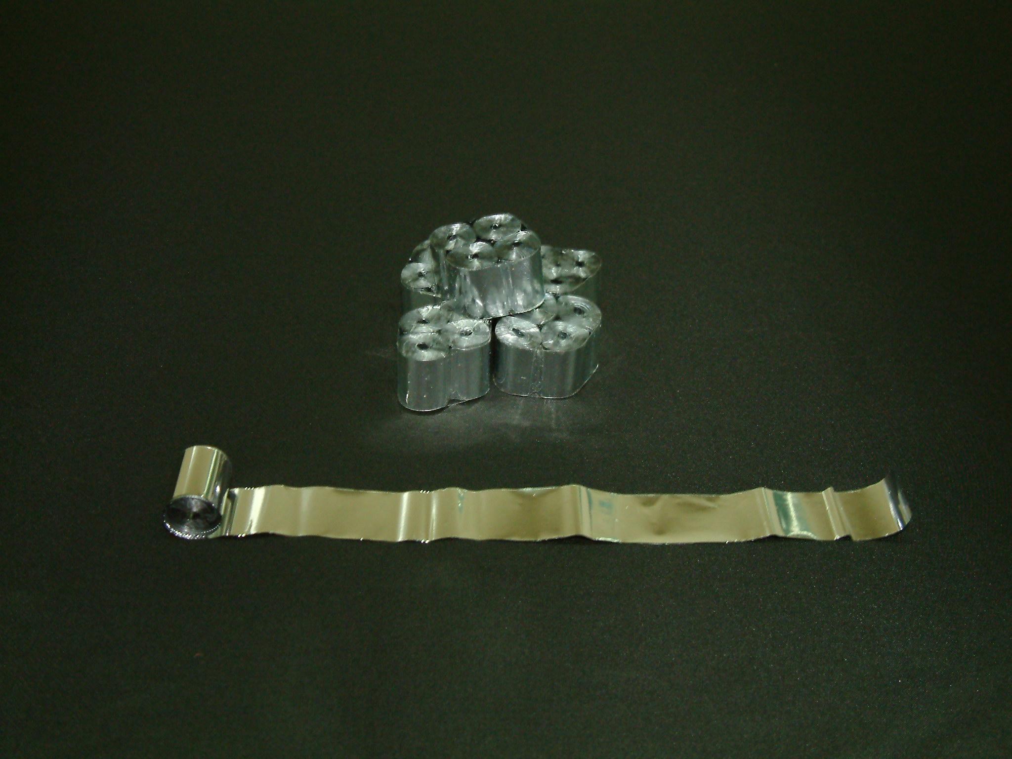 シルバーメタルテープ