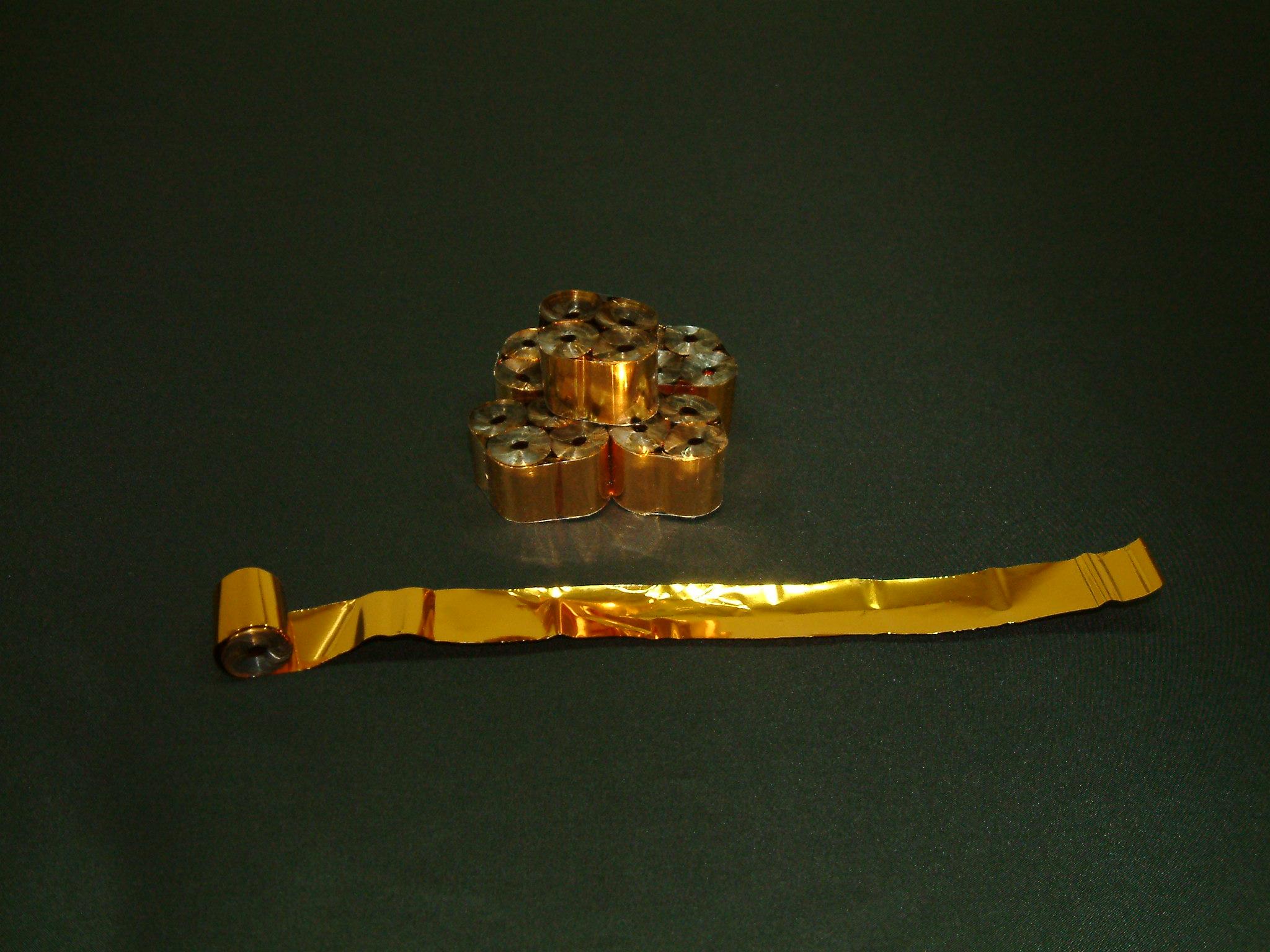 ゴールドメタルテープ