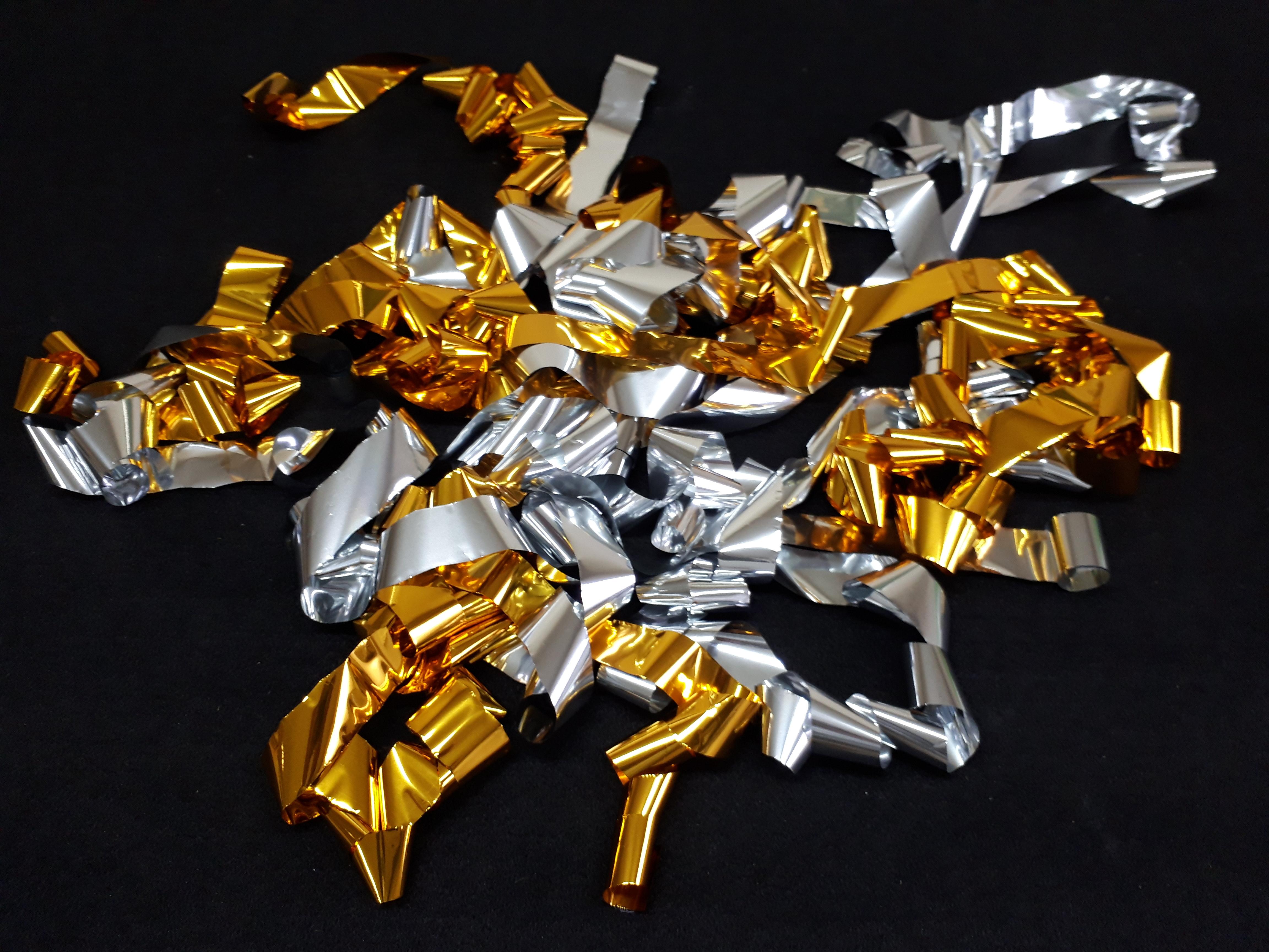 金銀MIXメタルショート